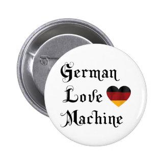 Máquina alemana del amor pin