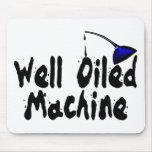 Máquina bien engrasada alfombrillas de ratón