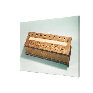 Máquina calculadora inventada por Blaise Pascal Lona Estirada Galerías