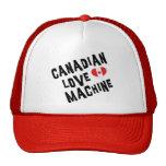 Máquina canadiense del amor gorra