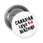 Máquina canadiense del amor pin