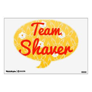 Máquina de afeitar del equipo