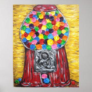 Máquina de Bubblegum Impresiones