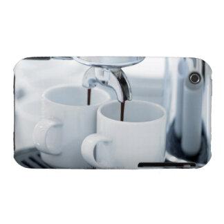 Máquina de café express que hace el café Case-Mate iPhone 3 cárcasas