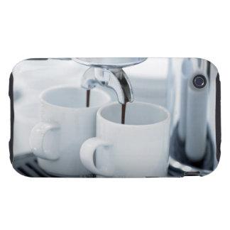 Máquina de café express que hace el café iPhone 3 tough protector
