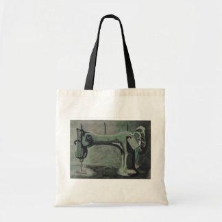 máquina de coser bolsa tela barata