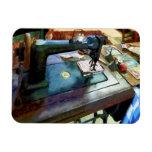 Máquina de coser con Sissors Imán