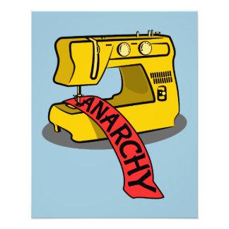 Máquina de coser de la anarquía fotos