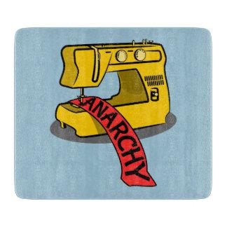 Máquina de coser de la anarquía tabla para cortar