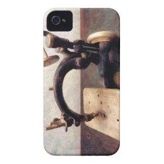Máquina de coser del Victorian Case-Mate iPhone 4 Protectores