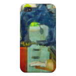 Máquina de coser en sitio del arnés iPhone 4 coberturas