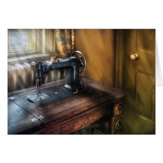 Máquina de coser - la máquina de coser tarjeton