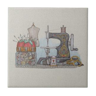 Máquina de coser manual azulejos ceramicos
