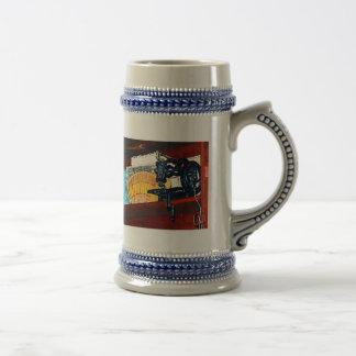 Máquina de coser para la venta taza