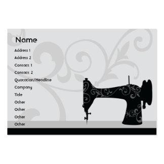 Máquina de coser - rechoncha tarjeta de negocio