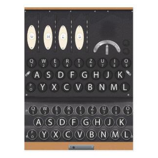 Máquina de Enigma Postal