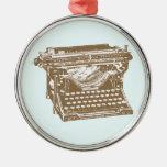 Máquina de escribir adorno