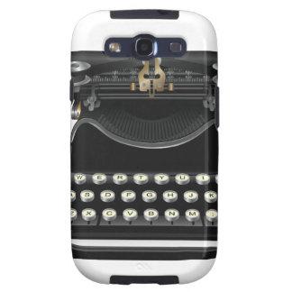 Máquina de escribir antigua samsung galaxy s3 cárcasas