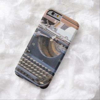 Máquina de escribir antigua funda de iPhone 6 barely there