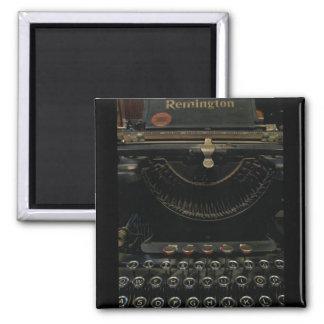 Máquina de escribir antigua iman