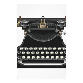 Máquina de escribir antigua  papeleria