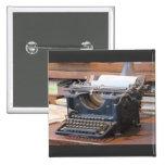 Máquina de escribir antigua pins