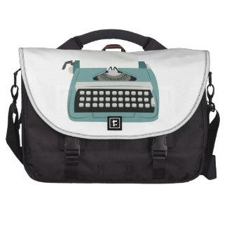 Máquina de escribir bolsas de portatil