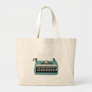 Máquina de escribir bolsa tela grande