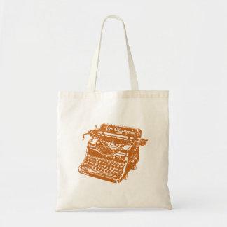 Máquina de escribir de Brown del vintage Bolsa Tela Barata