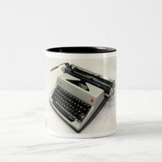 Máquina de escribir de Olympia De Luxe Taza Dos Tonos