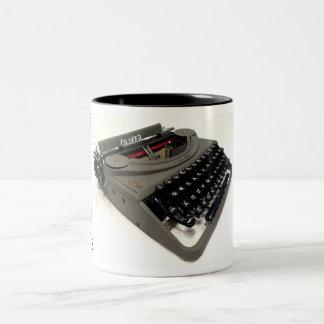 Máquina de escribir del portable de Oliverio Taza Dos Tonos