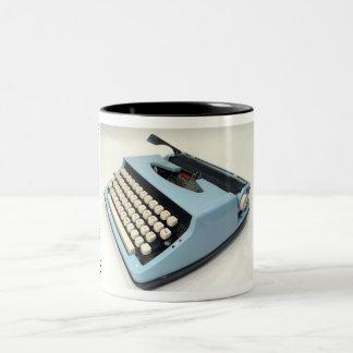 Máquina de escribir del portable de Sears Taza Dos Tonos