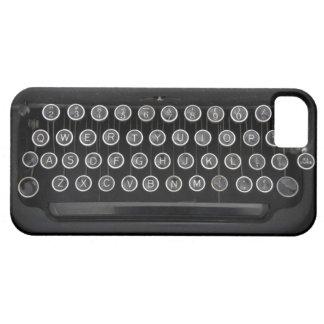 Máquina de escribir del vintage iPhone 5 cárcasa