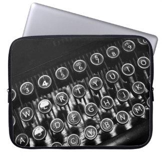 Máquina de escribir del vintage mangas portátiles
