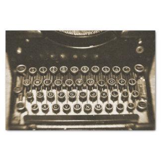 Máquina de escribir del vintage papel de seda pequeño