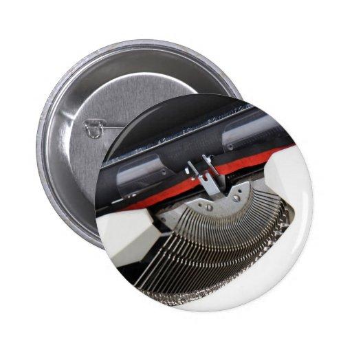 Máquina de escribir del vintage pin