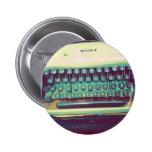 Máquina de escribir del vintage pins