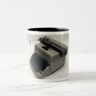 Máquina de escribir Estupenda-Riter de Remington Taza Dos Tonos