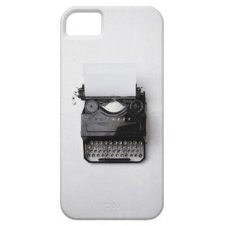 Máquina de escribir iPhone 5 carcasas