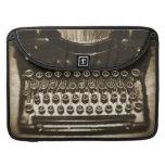 Máquina de escribir fundas para macbooks