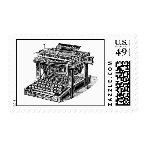 Máquina de escribir manual sellos