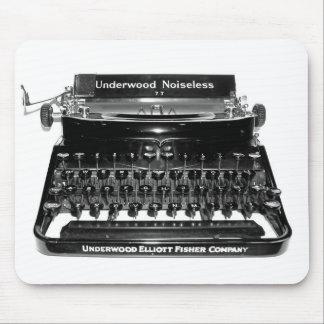 Máquina de escribir Mousepad del escritor - modifi