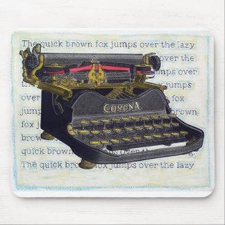 Máquina de escribir Mousepad