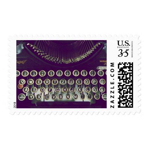 Máquina de escribir pasada de moda envio
