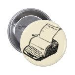máquina de escribir pin