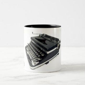 Máquina de escribir Royal De Luxe - 1936 Taza Dos Tonos