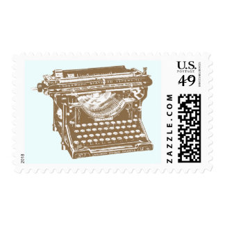 Máquina de escribir franqueo