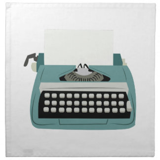 Máquina de escribir servilletas de papel