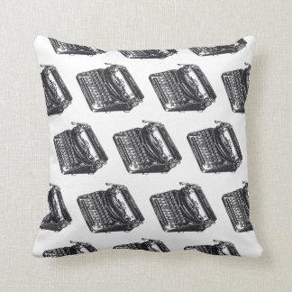 Máquina de escribir silenciosa de lujo almohada