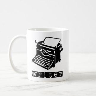 Máquina de escribir taza clásica